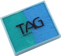Picture of TAG Pearl Teal & Pearl Sky blue Split Cake 50g