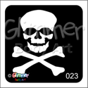 Picture of  Skull BG-23 - (5pc pack)