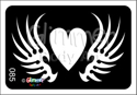 Picture of Winged Heart GR-85 - (5pc pack)