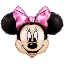 Picture of Minnie Mouse Head. Foil Balloon (28 Inch)  - XL