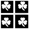 Picture of Mini Shamrock Stencil (4 in 1)