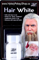 Picture of Mehron Hair White with Brush 1oz