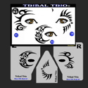 Picture of Tribal Trio Stencil Eyes - SOBA - 93SE