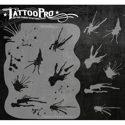 Picture of Tattoo Pro Stencil - Watercolor & Ink Splat (ATPS-111)
