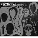 Picture of Tattoo Pro Stencil - Sugar Skulls (ATPS-117)