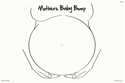 Picture of Wipeable Practice Boards - FAB005 Baby Bump