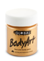 Picture of Global  - Liquid Face and Body Paint - Metallic Gold  45ml
