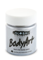 Picture of Global  - Liquid Face and Body Paint  - Metallic Silver -  45ml
