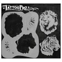 Picture of Tattoo Pro Stencil - Big Cats (ATPS-133)