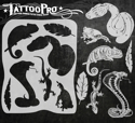 Picture of Tattoo Pro Stencil - Scales & Tails (ATPS-140)