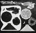 Picture of Tattoo Pro Stencil - Aztec & Mayan (ATPS-138)