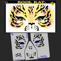 Picture of Kool Kat Stencil Eyes - 38SE - (Child Size 4-7 YRS OLD)