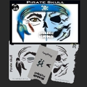 Picture of Pirate Skull Stencil Eye - 49SE (Child Size 4-7 YRS OLD)
