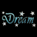 Picture of Dream - Sparkle Stencil (1pc)