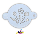 Picture of TAP 078 Face Painting Stencil - Candy Party