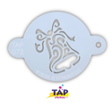Picture of TAP 072 Face Painting Stencil - Christmas Bell