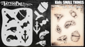 Picture of Tattoo Pro Stencil KIDS - Small Things (ATPS-KDS5)
