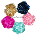 Picture of Pearl Rose Gems - Assorted Colours - 18x18mm (5 pc.) (FG-RA)