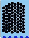 Picture of Honeycomb Stencil - SOBA-33