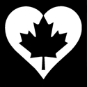 Picture of Love Canada - Sparkle Stencil (1pc)