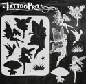 Picture of Tattoo Pro Stencil - Fairies (ATPS-157)