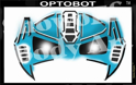 Picture of Optobot Stencil Eyes - SE - (Child Size 4-7 YRS OLD)