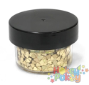 Picture of ABA Chunky Glitter - Holographic Gold Hearts (15ml)