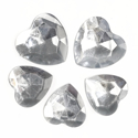 Picture of Jumbo Gems - Clear - From 1.5x2cm to 2x2.5cm (5 pcs.) (AG-C3)