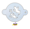 Picture of TAP 029 Face Painting Stencil - Ghosts