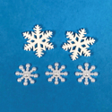 Picture of Snowflake Gem Set - 1.5-2cm (5 pc.) (AG-SGS)