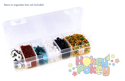 Picture of Craft & Bead Storage:6.75'' x 2.25'' x 1 3/16'' Organizer box (PB818)