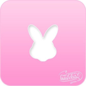 Picture of Pink Power Face Painting Stencil (1126) - Bunny Head