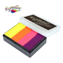 Picture of Kryvaline Fluorescent Sunset Split Cake (Creamy Line) - 40g