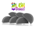 Picture of Splash Sponge - Half Moon - 6 Pack