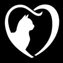 Picture of Cat Heart - Sparkle Stencil (1pc)