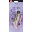 Picture of Black Sponge Brushes - 4pc