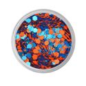Picture of Vivid Glitter Loose Glitter - Dominance - Orange & Blue Gameday  (25g)