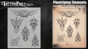 Picture of Tattoo Pro Stencil -  Pinstriping (ATPS174)