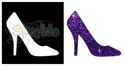 Picture of High Heel Shoe - Sparkle Stencil (1pc)