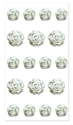 Picture of A Bride's Wish: 3D Bling Rose - Silver