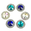 Picture of Double Round Gems - Frozen Set - 16mm  (6 pc.) (AG-DRL1)