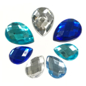 Picture of Teardrop Gems - Frozen Set - 10mm X 13mm -13mm X 18mm  (7 pc.) (AG-T2)