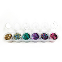 Picture of Superstar Chunky Glitter Mix 6 Pack - Crazy (130ml)