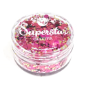 Picture of Superstar Chunky Glitter - Pink Lady (8ml)