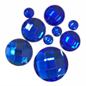 Picture of Round Gems - Blue - 5 to 20mm (9 pc) (SG-RB)