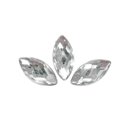 Picture of Pointed Eye Gems - Silver - 7x15mm (15 pc) (SG-PE6)