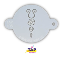 Picture of TAP 105 Face Painting Stencil - Butterfly Body