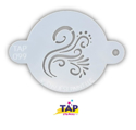 Picture of TAP 099 Face Painting Stencil - Swirly Detail