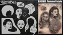 Picture of Tattoo Pro Stencil - BIG INK - Femme Fatale (ATPS-BGNK-108)
