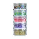 Picture of Vivid Glitter Stackable Loose Glitter - Festivity 5pc (25g)